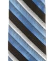 Haggar Men's Washable Shaded Review Stripe Tie