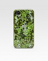 A colorful, camo-printed case snaps easily over your iPhone® 4/4s models for a protective and stylish cover.SiliconeFits iPhone 4 and 4S modelsImported