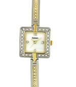 A stylishly slim design glitzed up with crystal accents make this Style&co. watch a glamorous must-own.