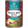 Eden Organic Small Red Beans, No Salt Added, 15-Ounce Cans (Pack of 12)