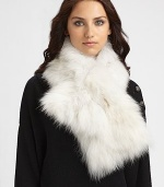 A natural or dyed textured style. Length, about 40 Dry clean Imported Fur origin: China