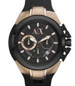 21st century confident cool envelops the timeless precision of this AX Armani Exchange watch.