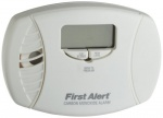 First Alert CO615 Carbon Monoxide Plug-In Alarm with Battery Backup and Digital Display