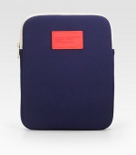 Protect your tablet in style with utility-inspired neoprene case with patch detail.Zip closureFully linedNeoprene8W x 10HImported