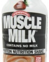 CytoSport Muscle Milk Ready-to-Drink Shake, Strawberries and Creme, 12 - 14 Ounce Containers