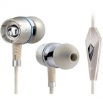 Monster Turbine Pearl High-Performance In-Ear Speakers with ControlTalk
