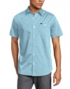 Hurley Men's Rise Solid Short Sleeve Shirt