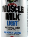 Cytosport Muscle Milk Light, Rtd's Vanilla,17-fl oz, 12-Count