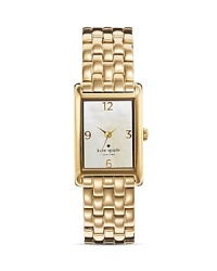 With pretty polish and elegance, kate spade new york's bracelet watch keeps you on schedule in spades.