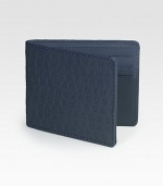 A slim, sporty essential with signature logo detail.One billfold compartmentSix credit card slotsLeather4W x 3HImported