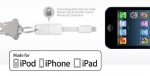 (NEW ARRIVAL) Authentic Apple MFi Certified Nomad Cable - Lightning (A 3 inch Lightning to USB charge and sync cable for your key ring)