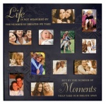 New View Life Moments Soft Sentiments Collage Frame