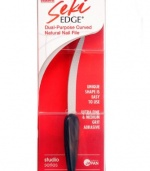 Seki Edge Dual-Purpose Curved Natural Nail File SS-404