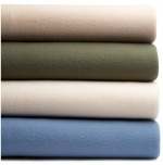 Martex Super Soft Fleece King Blanket, Linen