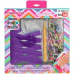 Expressions Girl / D.I.Y. Rubber Band Bracelet Loom Kit with Rainbow Bands